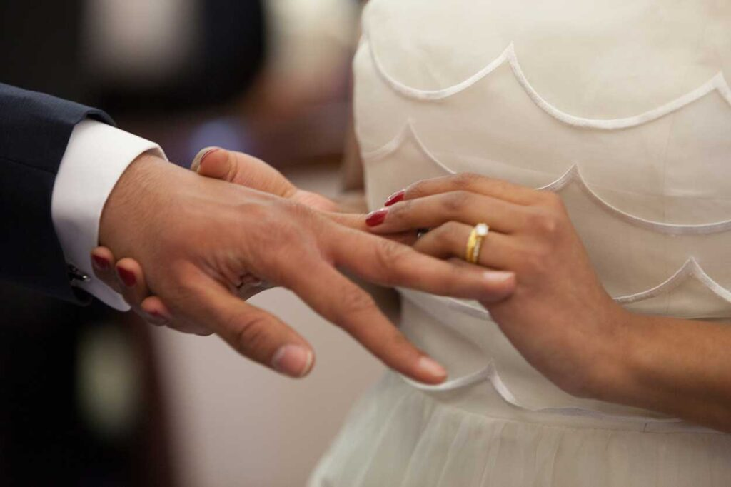 Bride Ring Ceremony